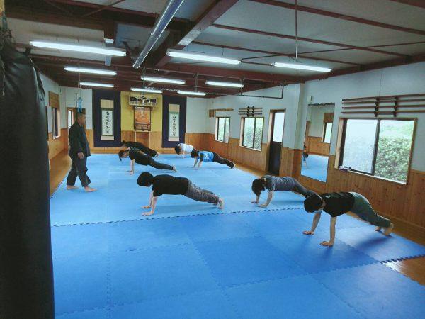 体操女性クラスを実施(^^)