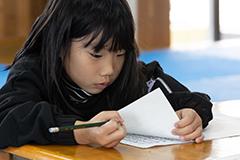 写経は漢字の勉強にもなります