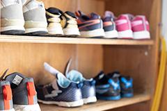 靴を揃える、きちんと挨拶をするなど生活指導も